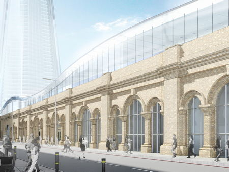 The Future of London Bridge Station at Globe House