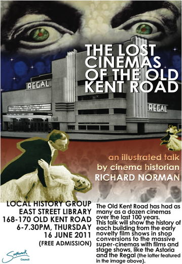 The Lost Cinemas of the Old Kent Road at