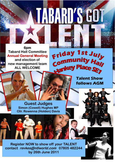 Tabard's Got Talent at
