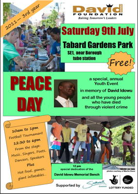 Peace Day at Tabard Gardens