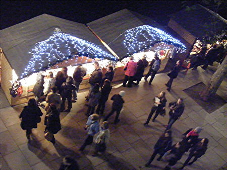 Traditional Christmas Market at Festival Riverside