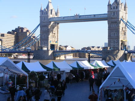 More London Christmas Market at