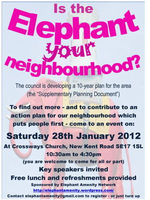 Is the Elephant your neighbourhood? at