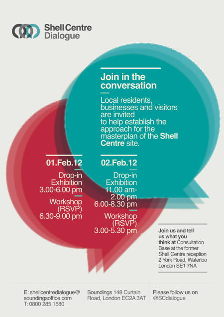 Shell Centre Dialogue Open Exhibition and Workshops at