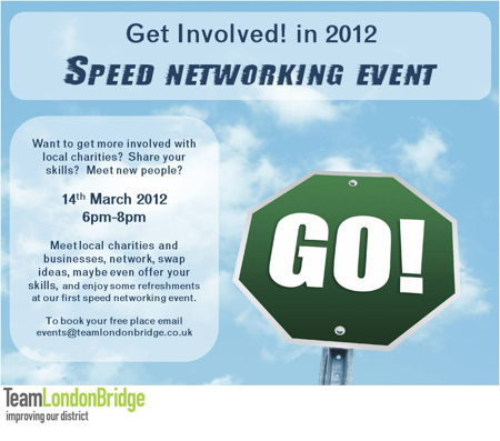 Charity Speed Networking at Hay's Galleria