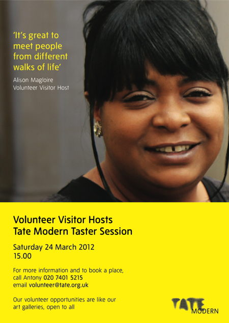 Volunteer Visitor Hosts - Taster Session at