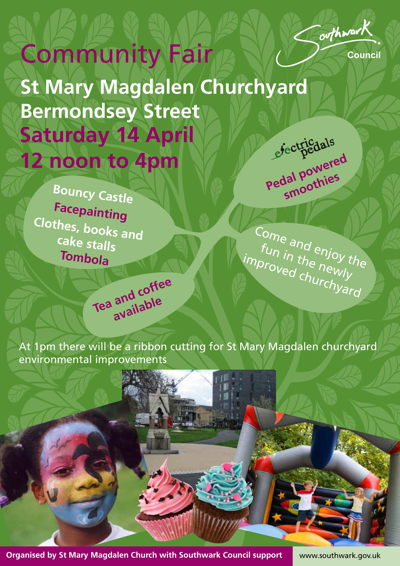 Community Fair at St Mary Magdalen Churchyard