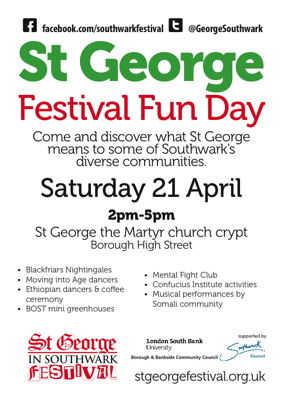 St George Festival Fun Day at St George the Martyr
