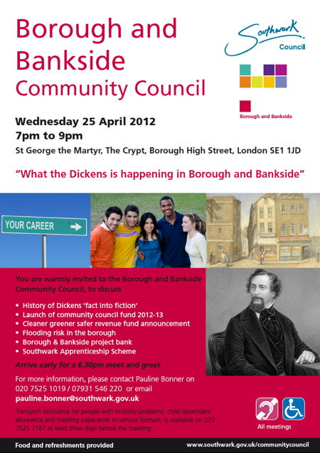 Borough & Bankside Community Council at St George the Martyr