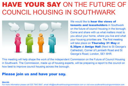 Southwark Housing Commission at