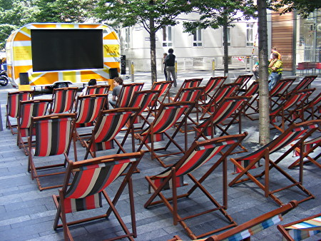 Wimbledon Big Screen at Bankside Mix