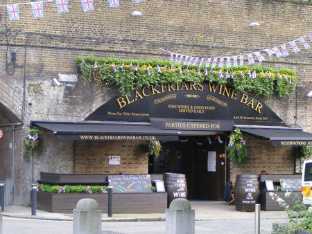 Diamond Jubilee Party at Blackfriars Wine Bar