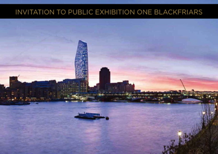 One Blackfriars Public Exhibition at London Nautical School