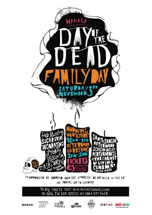 Day of the Dead Festival Family Day at The Vaults