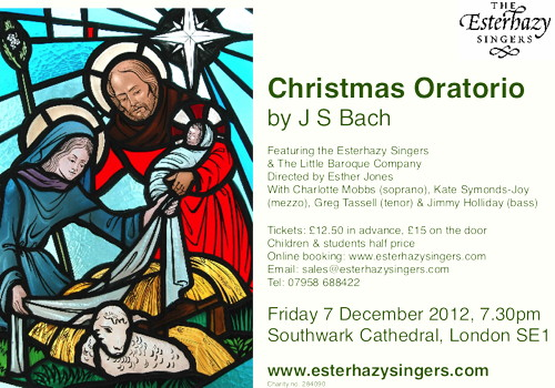 Christmas Oratorio by J S Bach at