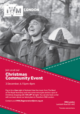 Christmas Community Event at Imperial War Museum