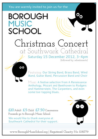 Borough Music School Christmas Concert at