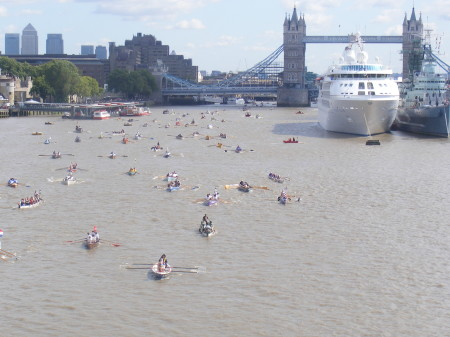 The Great River Race at