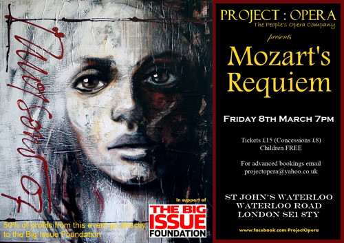 Mozart's Requiem at St John's Waterloo