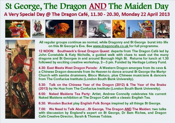 Dragon Cafe at St George the Martyr