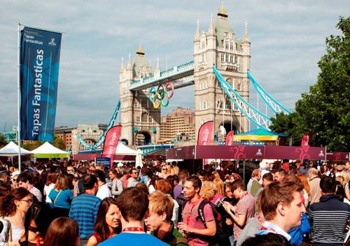 Rioja Tapas Fantasticas at Potters Fields Park