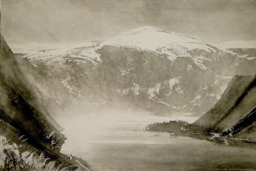 Norman Ackroyd at Eames Fine Art