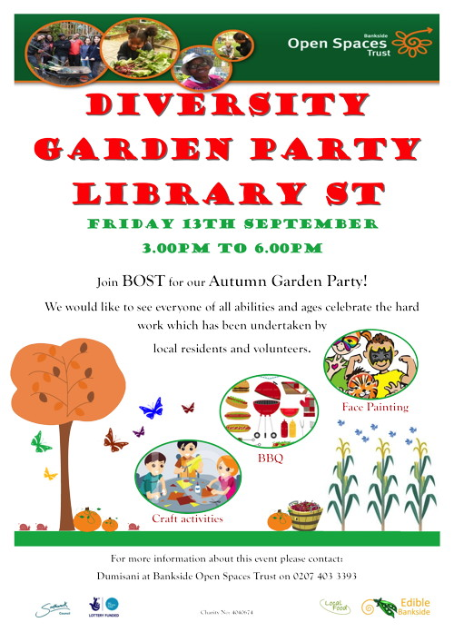 Diversity Garden Party at