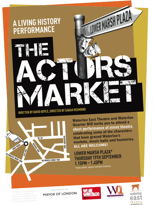 The Actors Market at Lower Marsh