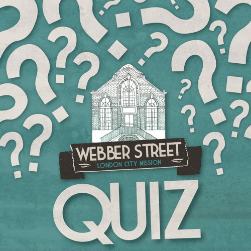 Webber Street Quiz at Webber Street Day Centre