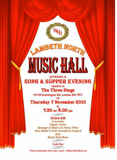 Lambeth North Music Hall at