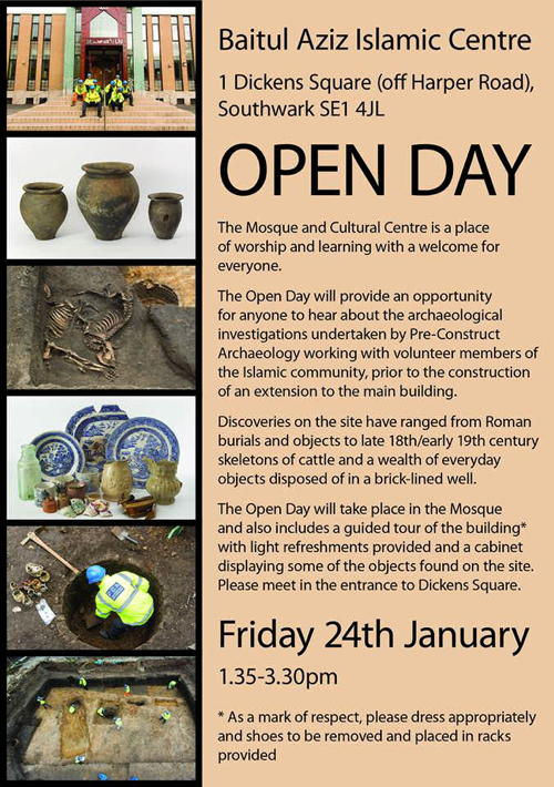 Open Day at Bait-ul-Aziz Islamic Cultural Centre