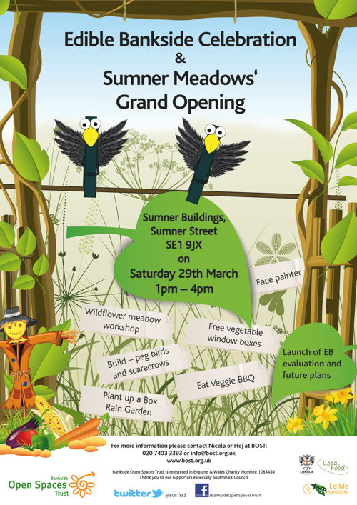 Edible Bankside Celebration & Sumner Meadows Grand Opening at