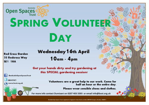 Spring Volunteer Day at
