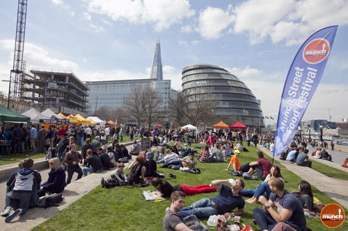Munch Street Food Festival at Potters Fields Park