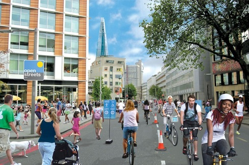 Open Streets Southwark at