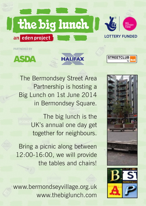 The Big Lunch at Bermondsey Square