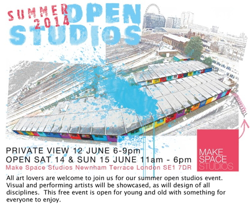 Make Space Open Studios at Make Space Studios