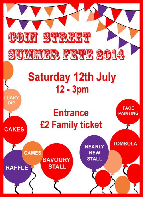 Summer Fete at Coin Street Neighbourhood Centre