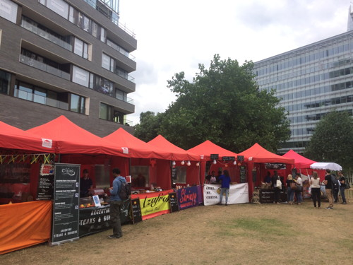 Munch International Food & Craft Beer Festival at Potters Fields Park