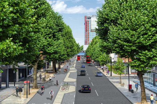 North South Cycle Superhighway Public Exhibition at