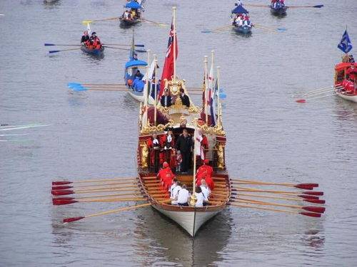 Lord Mayor's Show River Pageant at