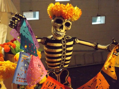 Day of the Dead Festival at Bargehouse