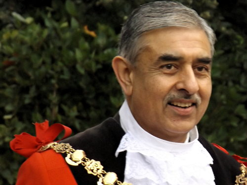 Cllr Sunil Chopra, Mayor of Southwark