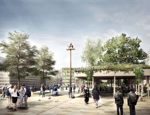 Elephant Square consultation exhibition at