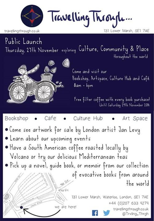 Public Launch at Travelling Through...