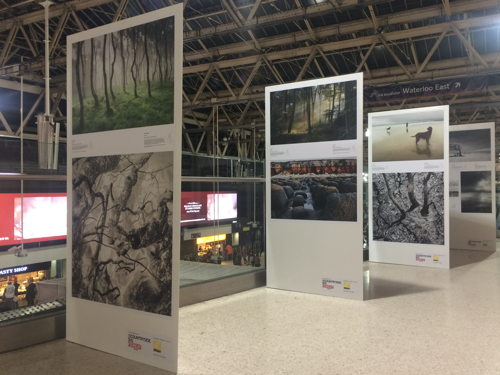 Landscape Photographer of the Year at Waterloo Station