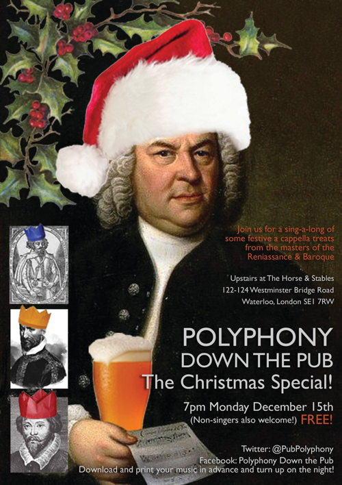 Polyphony Down the Pub Christmas Special at