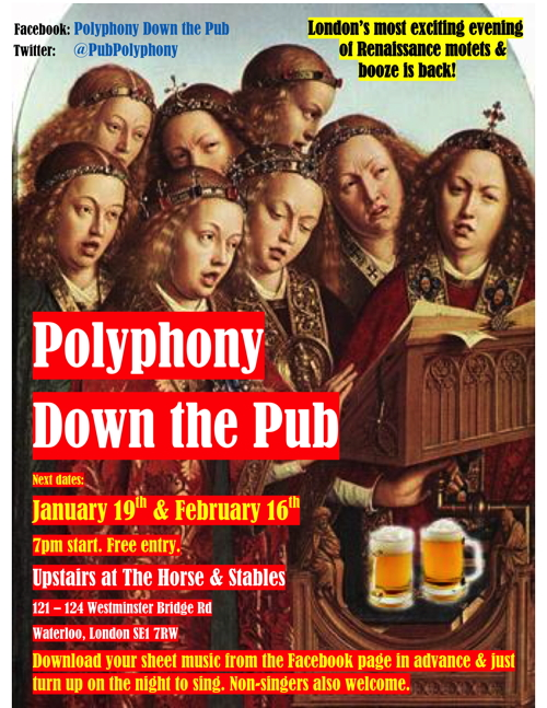 Polyphony Down the Pub at The Horse & Stables