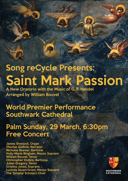 Saint Mark Passion at