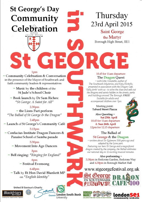St George's Day Community Celebration at